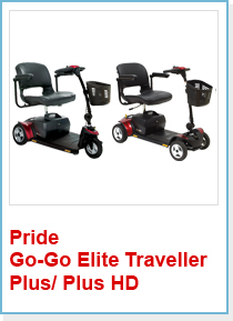 Pride Go-Go Elite Traveller Plus/ Plus HD